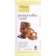 Chuao Pretzel Toffee Twirl Chocolate Bar, Carlsbad, CA