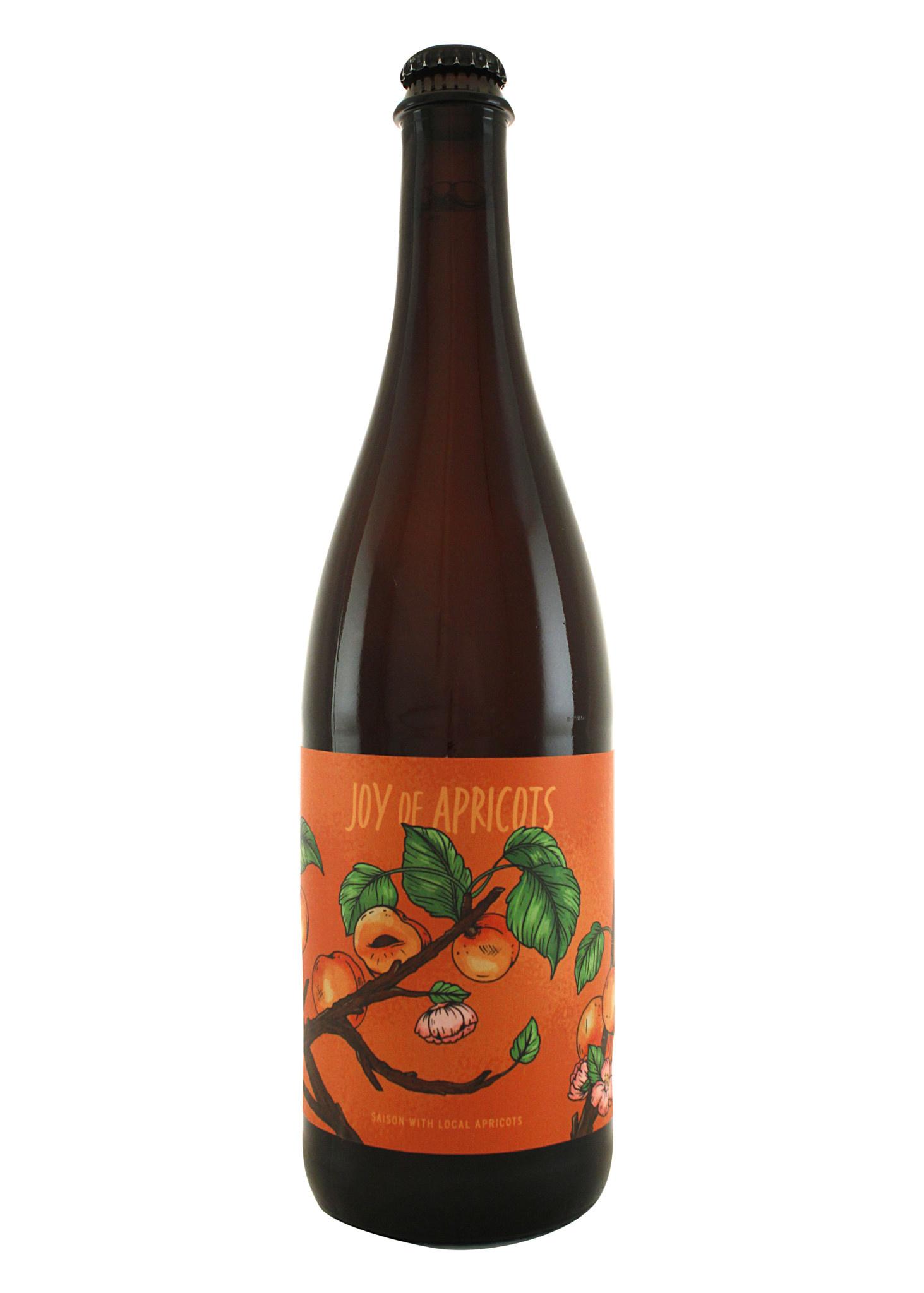"Urban Roots Brewing ""Joy of Apricots"" Saison 750ml. - Sacramento, CA"