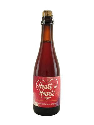 "Allagash Brewing ""Heart of Hearts"" Sour Golden Ale w/ Raspberries 375ml. bottle - Portland, Maine"