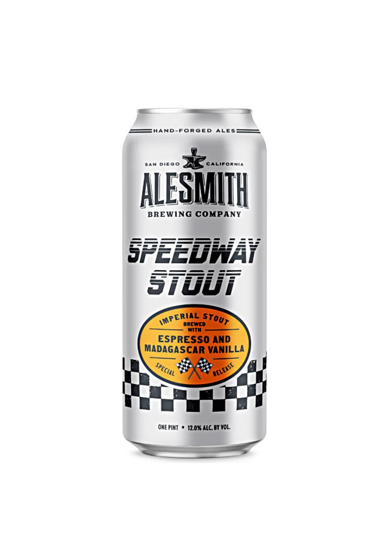 "Alesmith Brewing ""Speedway Stout"" Imperial Stout w/Espresso & Vanilla 16oz. can - San Diego, CA"