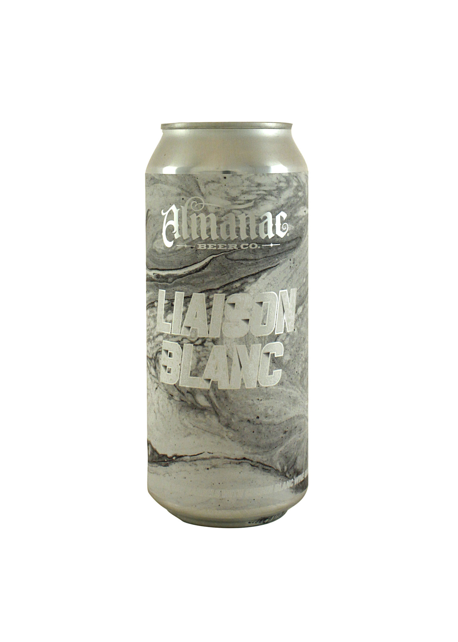 "Almanac Beer Co. ""Liaison Blanc"" Sour w/ Chenin Blanc Grapes 16oz. can - Alameda, CA"
