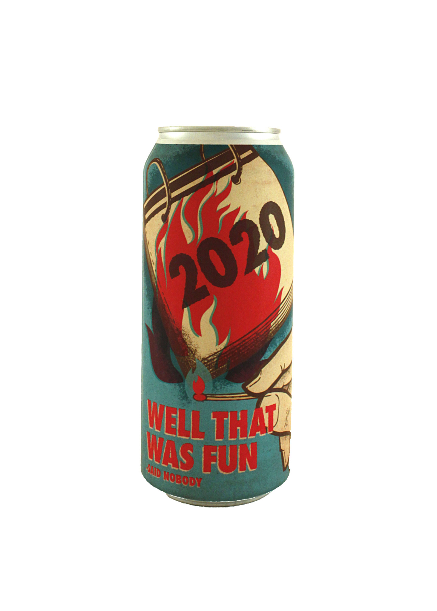 """Pariah Brewing """" """"2020 Well That Was Fun"""" Hazy Double IPA 16oz. can - San Diego, CA"""