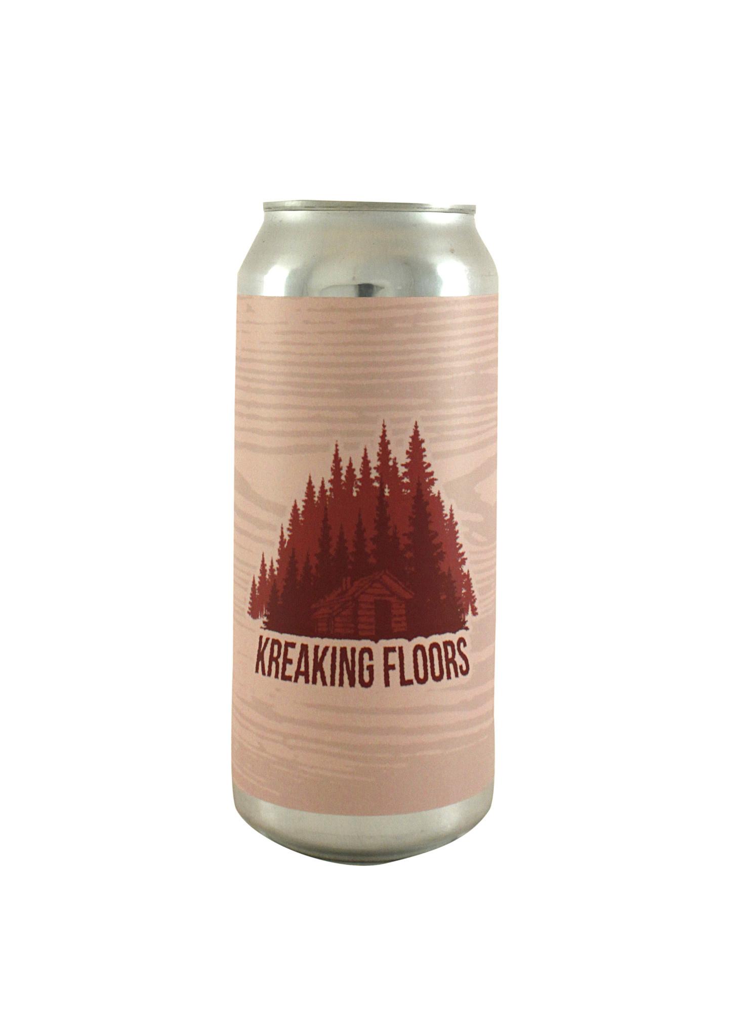 "Arrow Lodge Brewing ""Kreaking Floors"" Farmhouse Ale w/Cherries 16oz. can - Covina, CA"