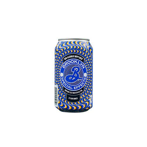 "Brooklyn Brewing ""Special Effects"" Non-Alcoholic Hoppy Brew 12oz. Utica, NY"