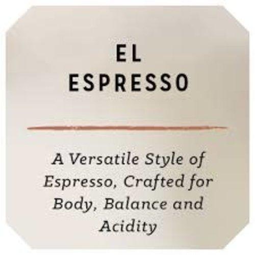 "Rose Park Coffee Roasters ""El Espresso"" Fazenda I.P., Brazil Single Origin Espresso Whole Bean Coffee 12oz. Long Beach, CA"