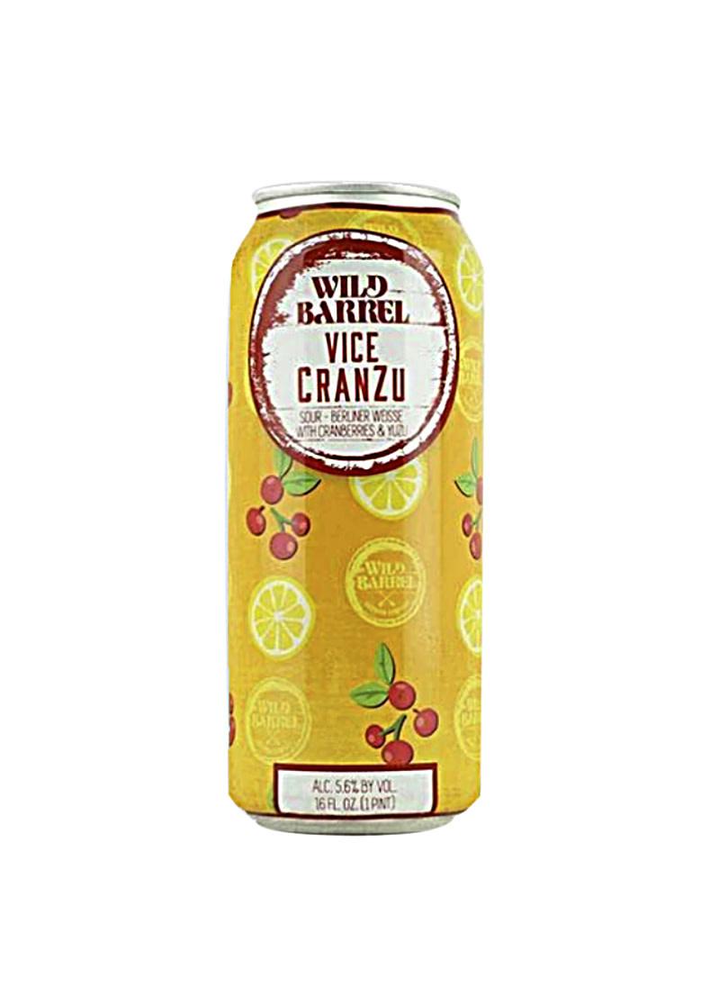 "Wild Barrel ""Vice Cranzu"" Berliner Weisse Cranberries & Yuzu 16oz. Can - San Marcos, CA"