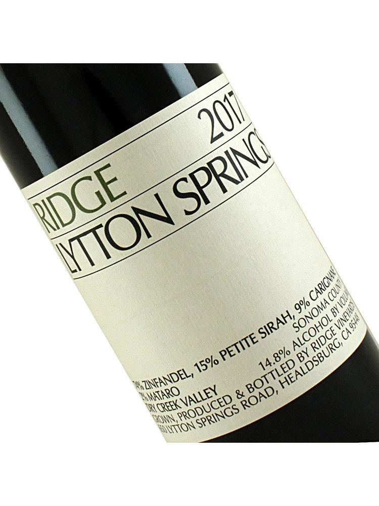 Ridge Vineyards 2017 Lytton Springs, Sonoma County