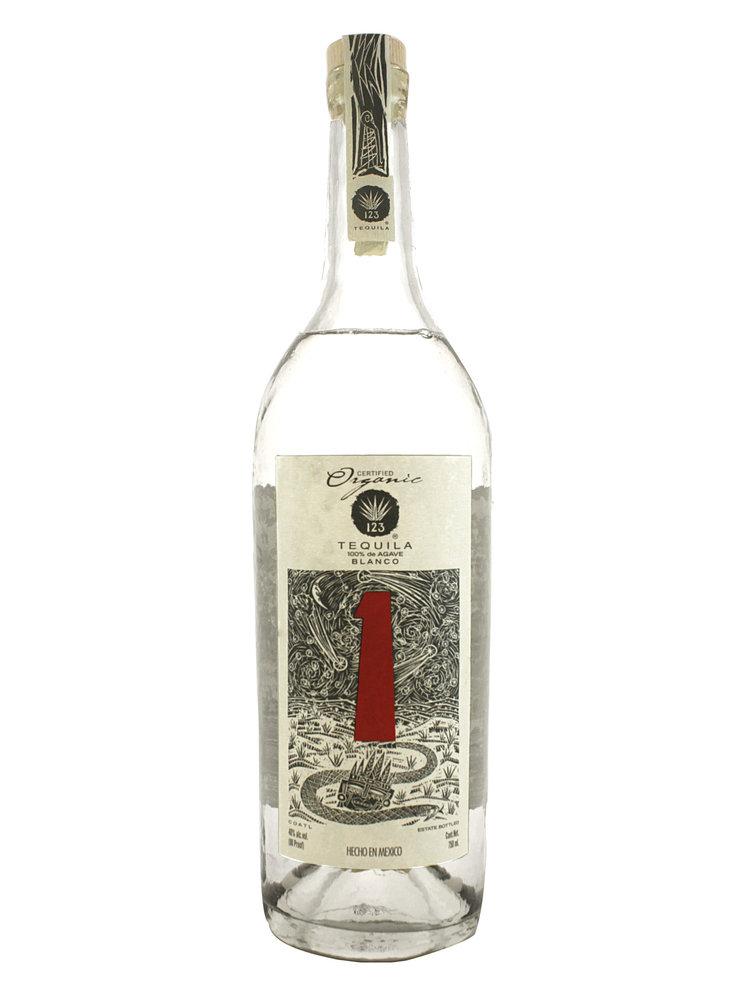 123 Tequila Uno Organic Blanco 1, Matitan, Jalisco, Mexico