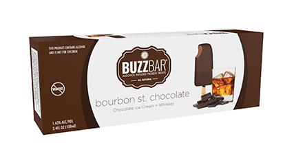 Buzz Bar Bourbon St. Chocolate Bar