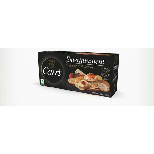 Carr's Entertainment Cracker Collection, 7.05 oz