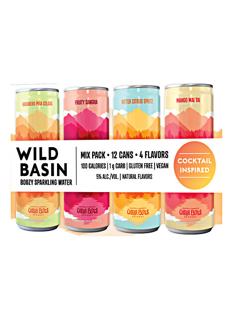 """Wild Basin """"Cocktail Inspired Pack"""" Seltzer"""
