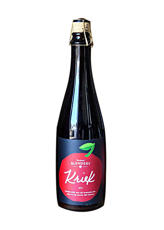 "Beachwood Blendery ""Kriek"" Cherry sour ale 16.9oz bottle- Long Beach, CA"