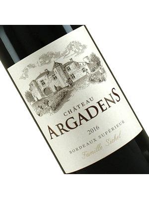 Chateau Argadens 2016/17 Bordeaux Superieur Rouge