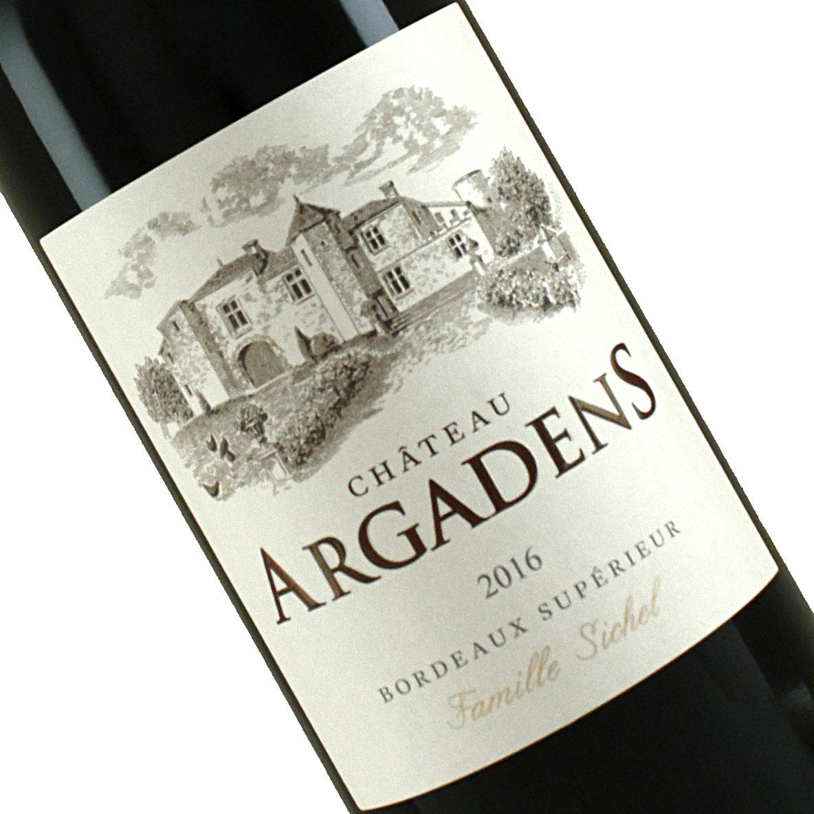 Chateau Argadens 2016/17 Bordeaux Superieur Rouge, Bordeaux