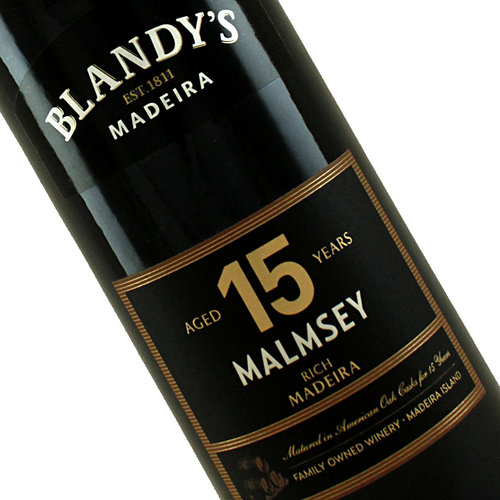 Blandy's 15 Year Old Rich Malmsey Madeira, Portugal - 500ml