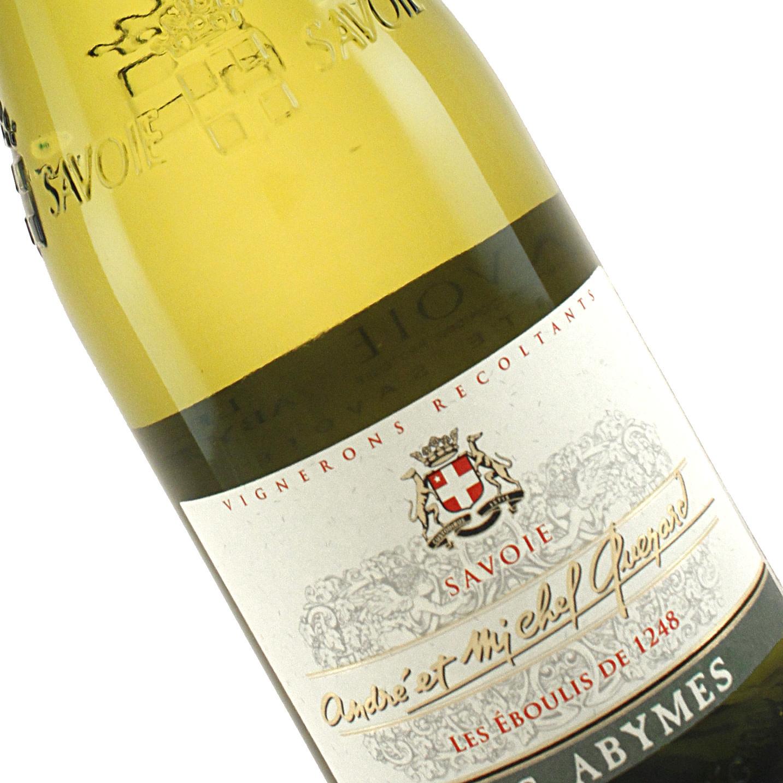 """Quenard 2019 """"Les Abymes"""" White Savoie Wine, Savoie"""