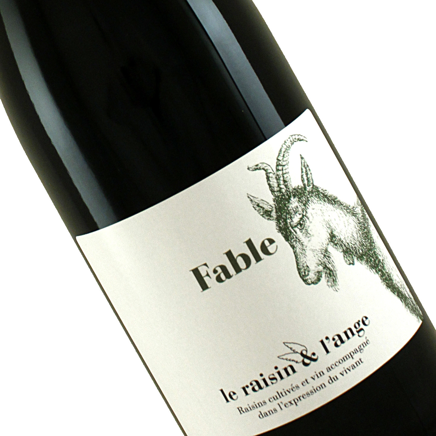 "Le Raisin & L'ange 2019 ""Fable"" Red Wine, France"