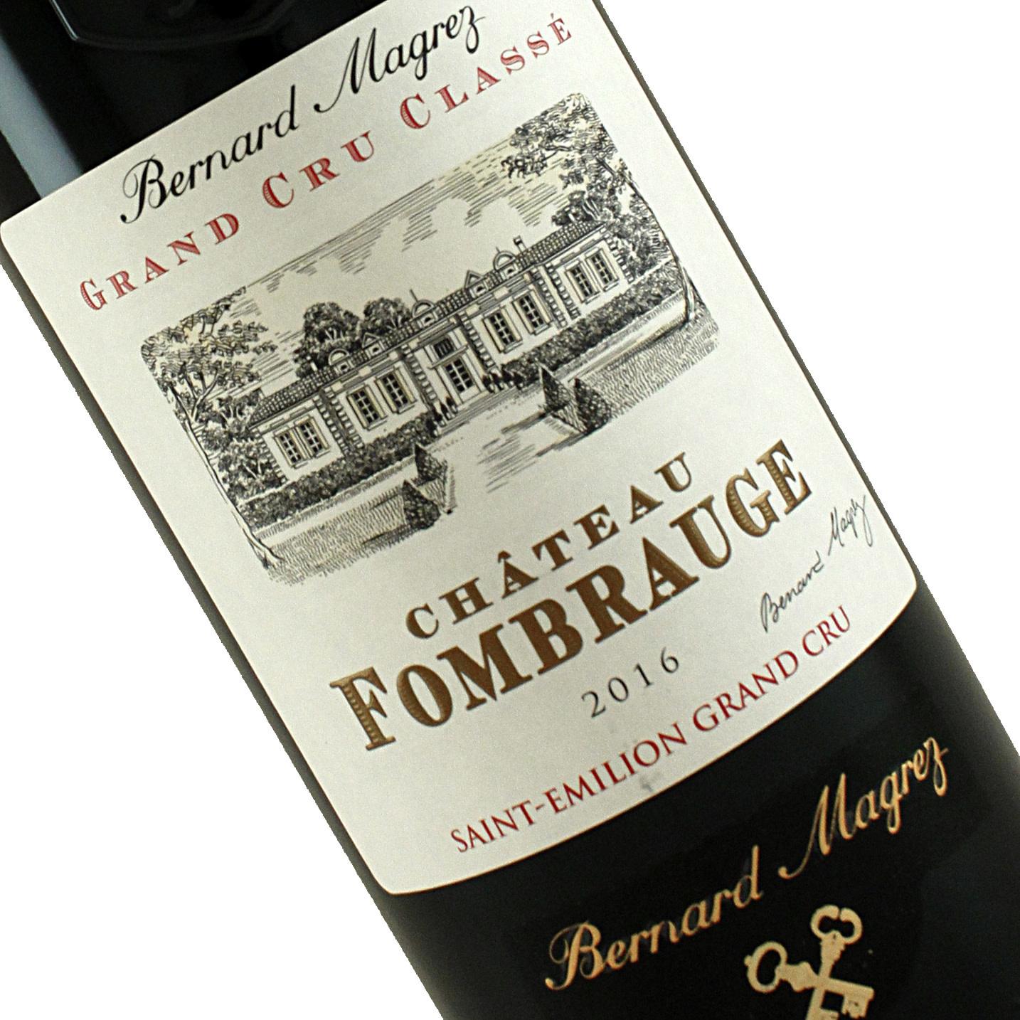 Chateau Fombrauge 2016 Saint-Emilion Grand Cru Bordeaux