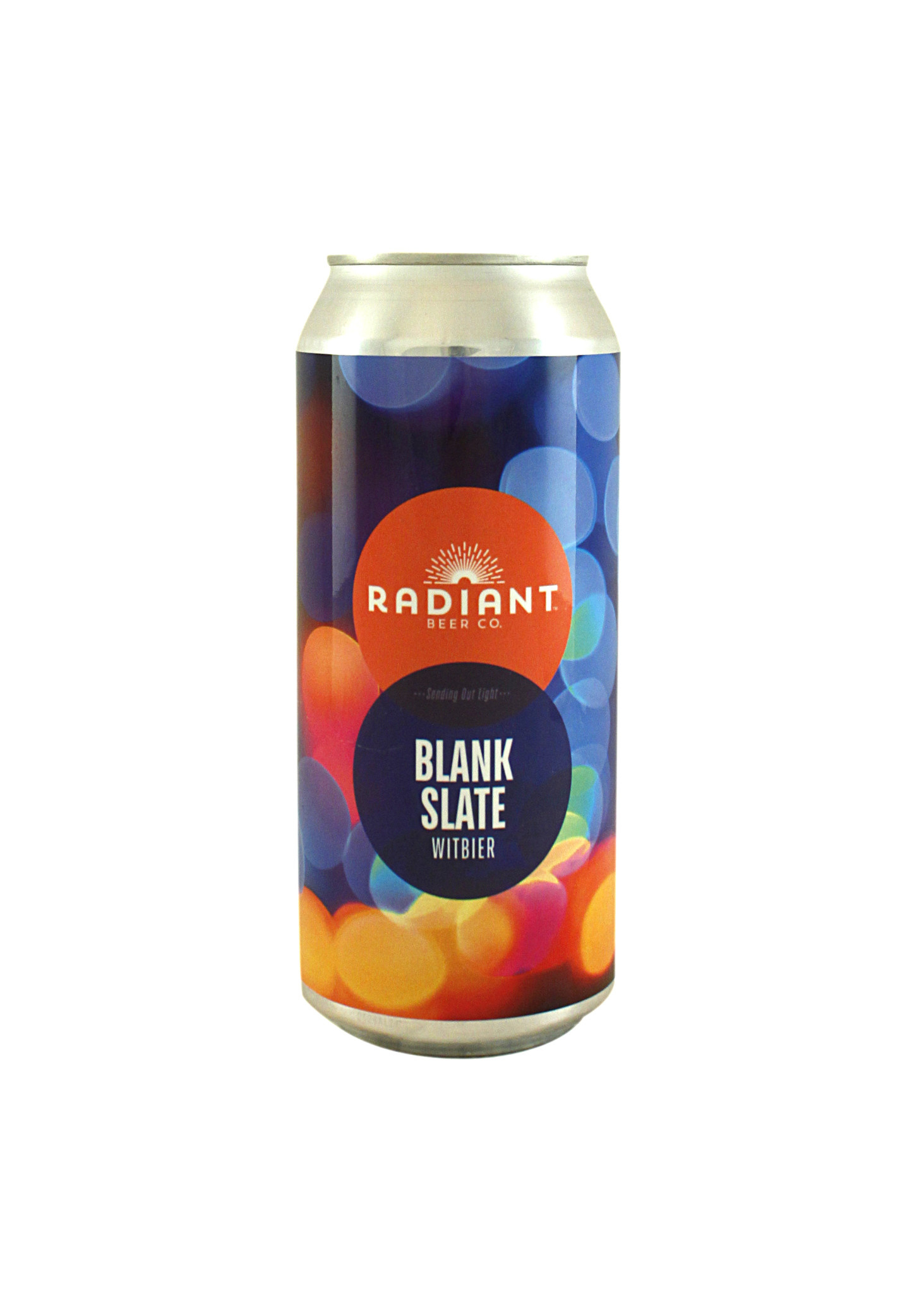 "Radiant Beer ""Blank Slate"" Witbier 16oz. can - Anaheim, CA"