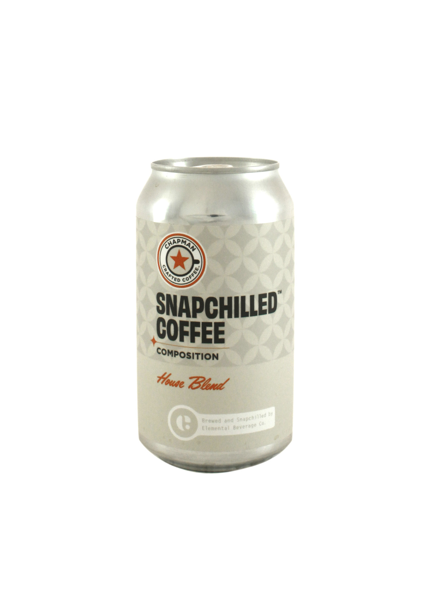 """Chapman Crafted Coffee """"Snapchilled"""" House Blend 12oz. can - Orange, CA"""