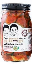 Twins Kimchi - Premium Cucumber Kimchi 16oz., California