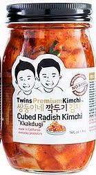 Twins Kimchi - Premium Cubed Radish Kimchi 16oz., California