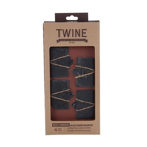 Slate Cheese Markers, Set of 4