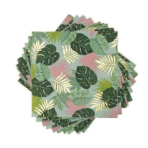 Napkin - Monstera Tropical