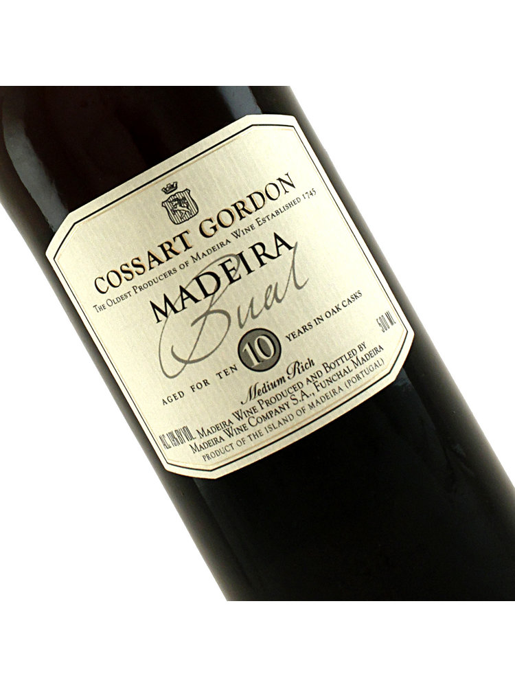 Cossart Gordon 10 Year Old Bual Madeira, Portugal 500ml