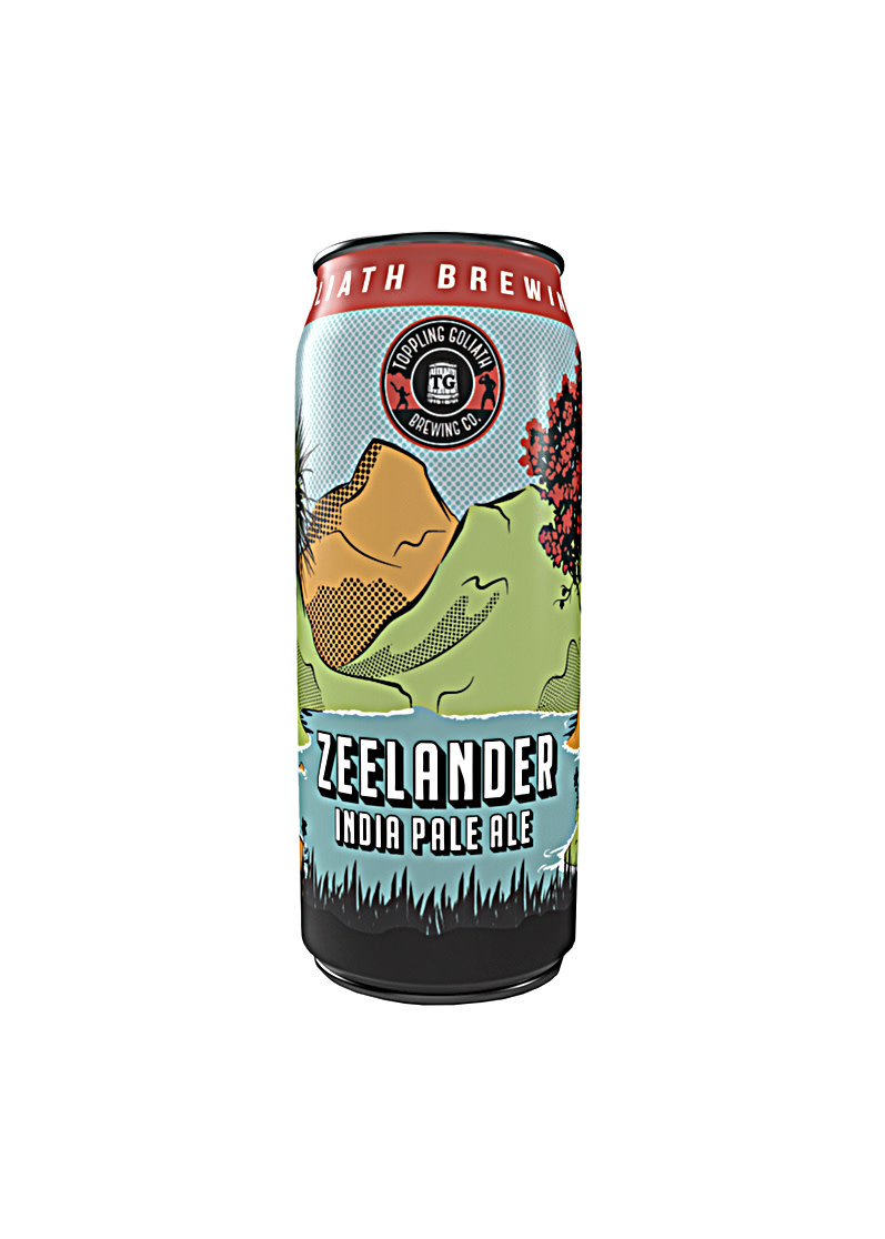 "Toppling Goliath ""Zeelander"" IPA 16oz can- Decorah, IA"