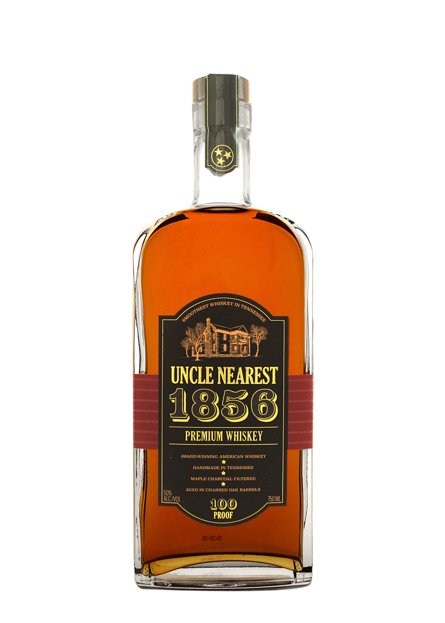Uncle Nearest 1856 Premium Whiskey, 100 Proof, Shelbyville, Tennessee--FEBRUARY SPIRIT OF THE MONTH!
