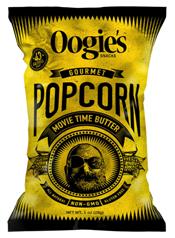 Oogie's Snacks Gourmet Popcorn, Movie Time Butter, 1 oz