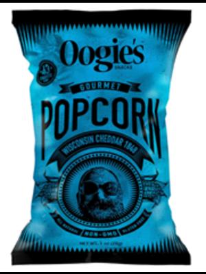 Oogie's Snacks Gourmet Popcorn, Wisconsin Cheddar, 1 oz