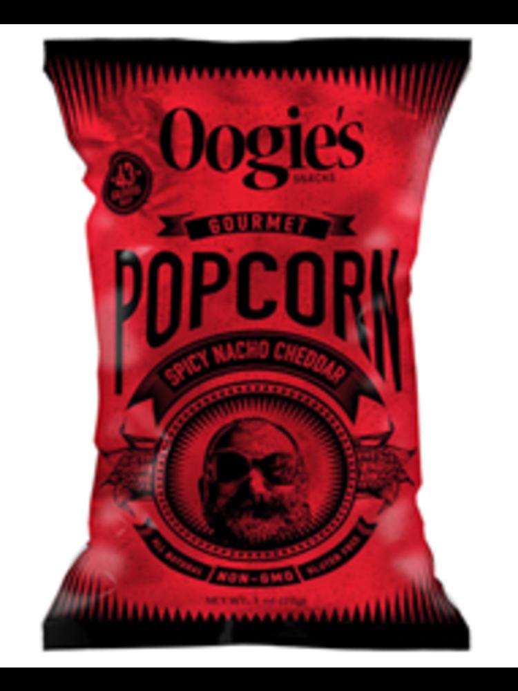 Oogie's Snacks Gourmet Popcorn, Spicy Nacho Cheddar, 1 oz