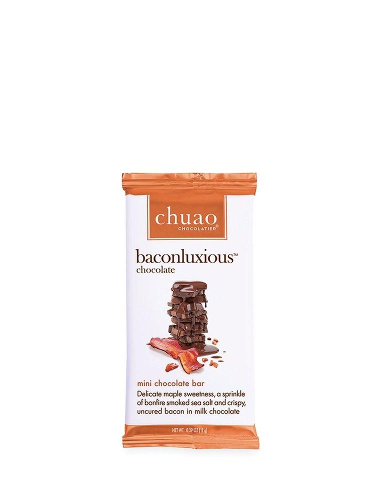 Chuao Mini Baconluxious Chocolate Bar, .39 oz