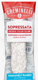 Creminelli Sopressata Uncured Italian Salami
