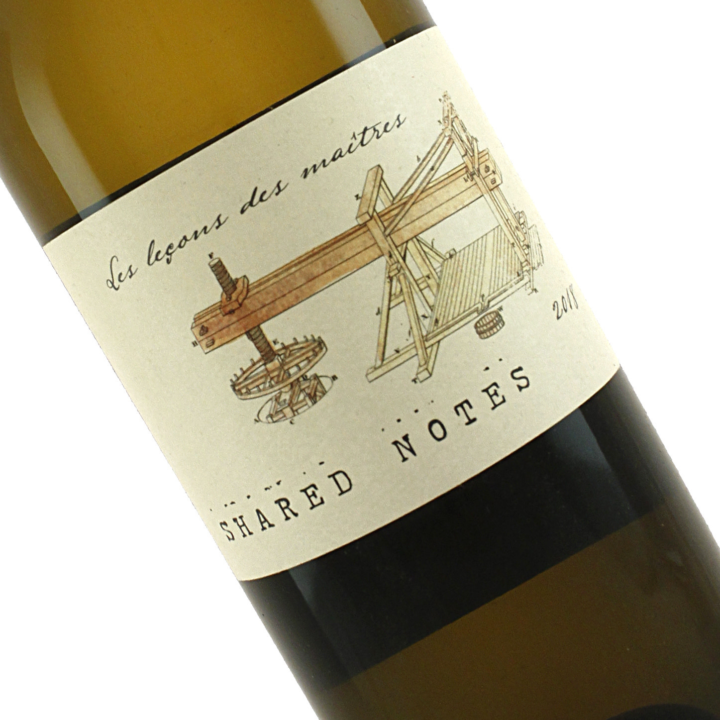 "Shared Notes 2018 White Wine ""Les Lecons Des Maitres"", Russian River Valley"
