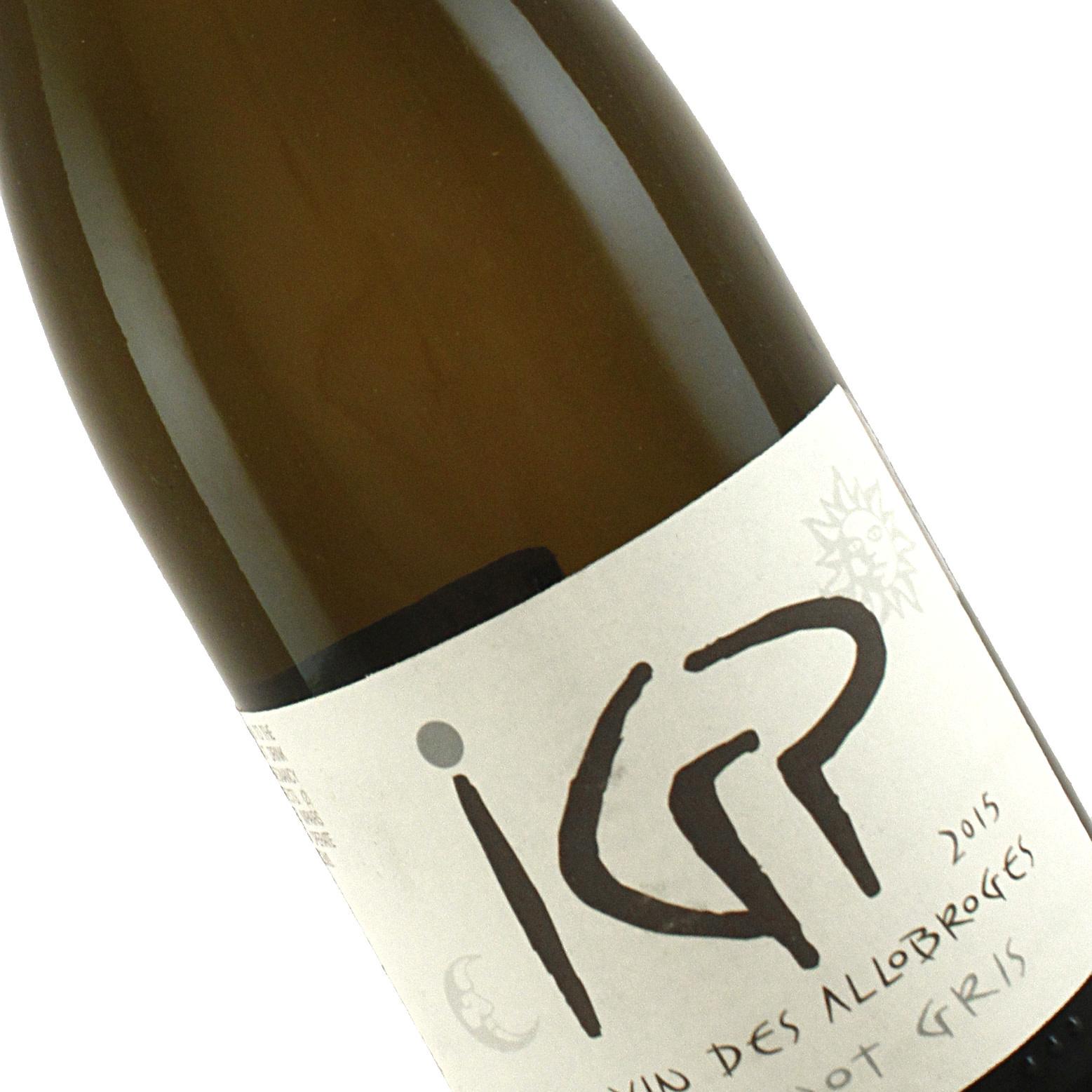 Les Vignes de Paradis 2015 Pinot Gris IGP Vin Des Allobroges, Savoie