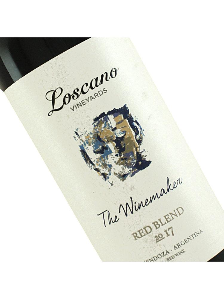 "Loscano 2017 Red Blend ""The Winemaker"" Mendoza, Argentina"