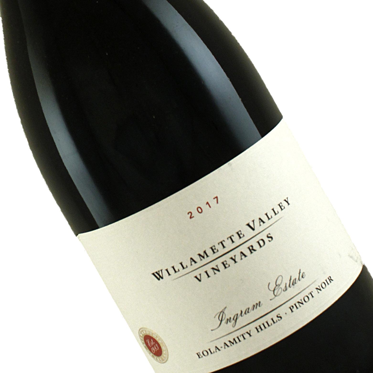 Willamette Valley Vineyards 2017 Ingram Estate Pinot Noir, Eola Amity Hills