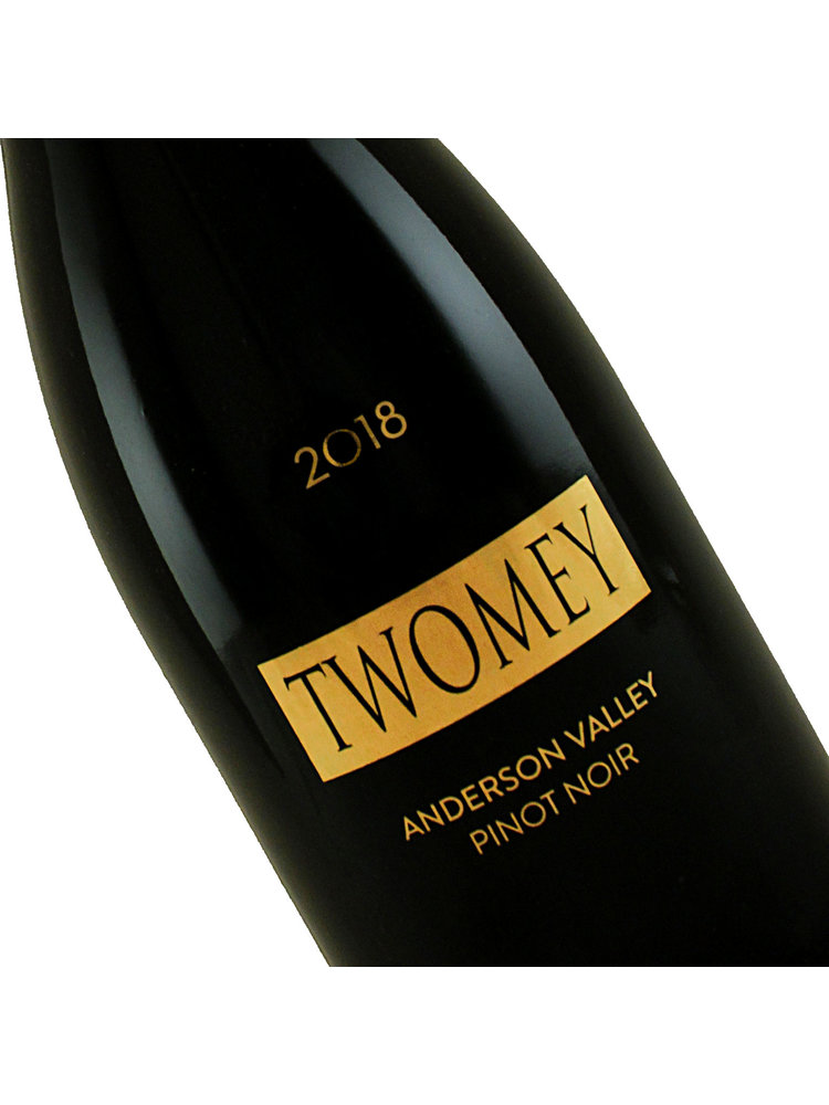 Twomey 2018 Pinot Noir, Anderson Valley