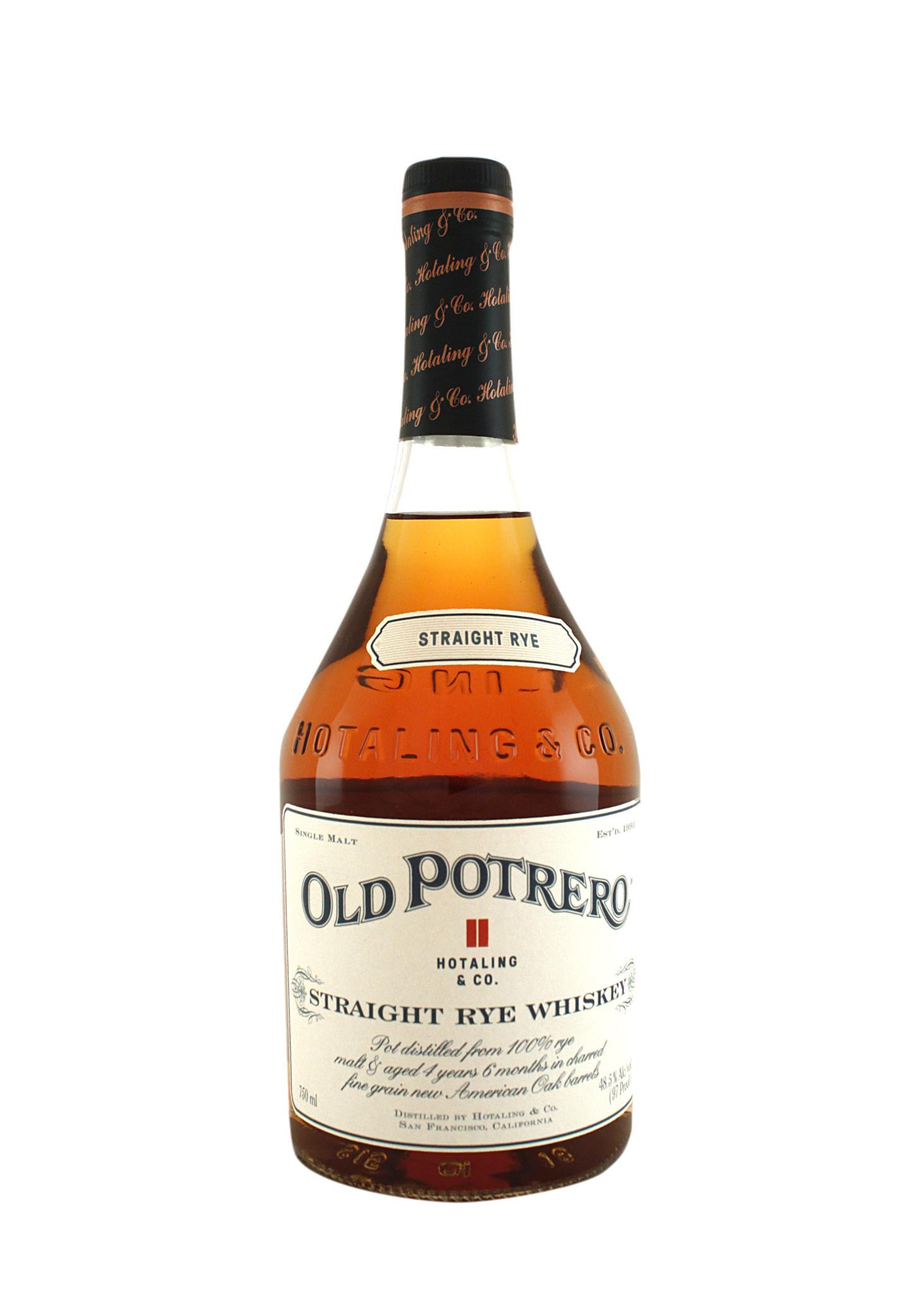 Old Potrero 18th Century Style Spirit Rye Whiskey, San Francisco