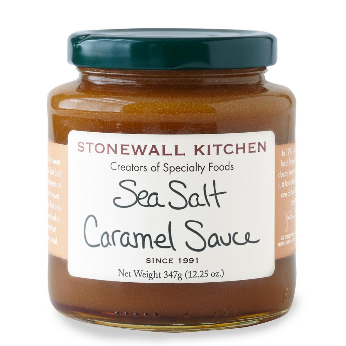 Stonewall Kitchen, Sea Salt Caramel Sauce, 12.25 oz
