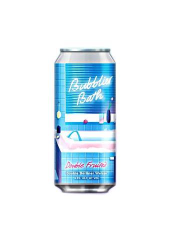 "Alvarado Street Brewery ""Bubblier Bath"" Fruited Berliner Weisse 16oz can- Salinas, CA"