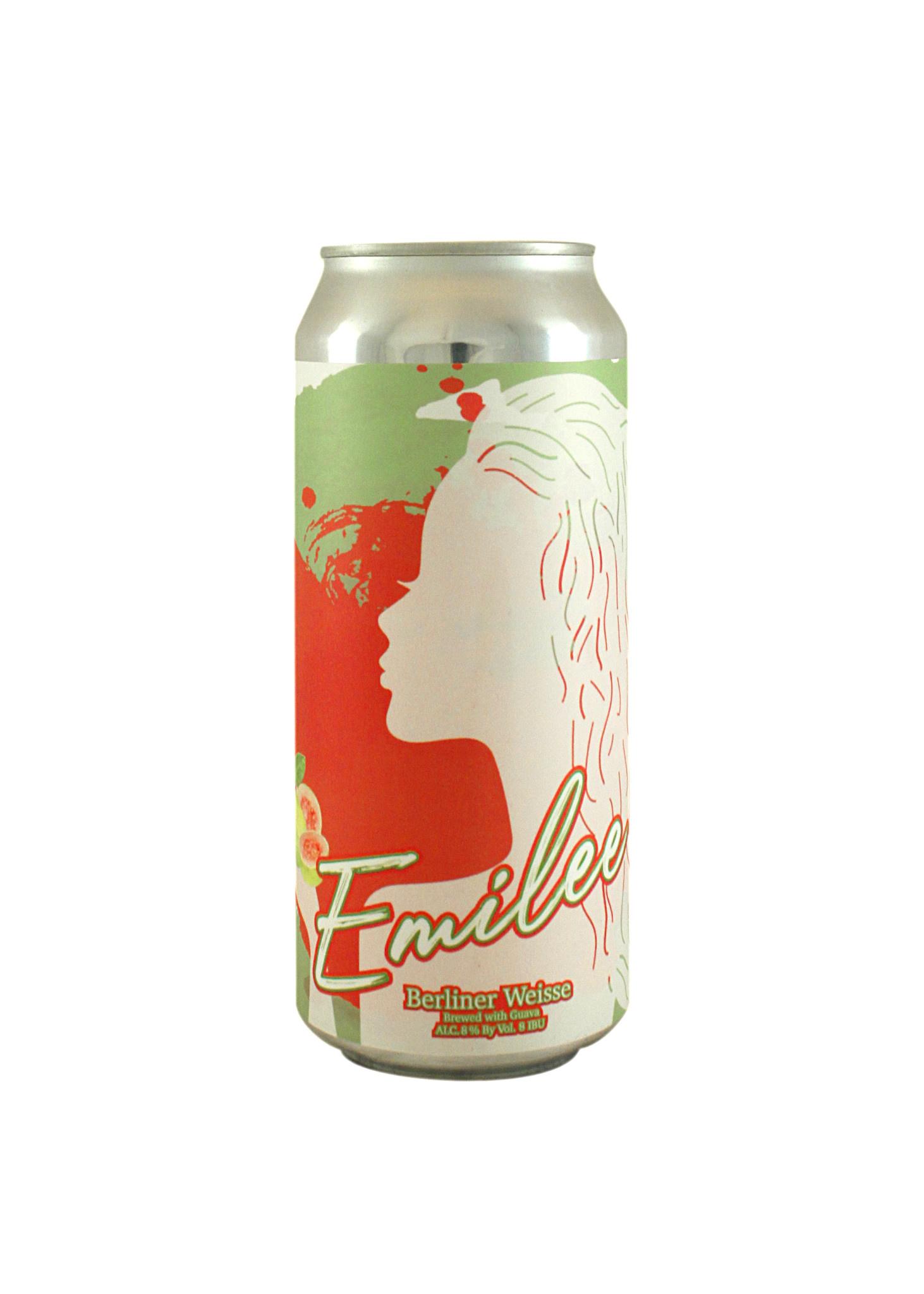 "Hop Capital Brewing ""Emilee"" Berliner Weisse w/Guava 16oz. can - Yakima, WA"