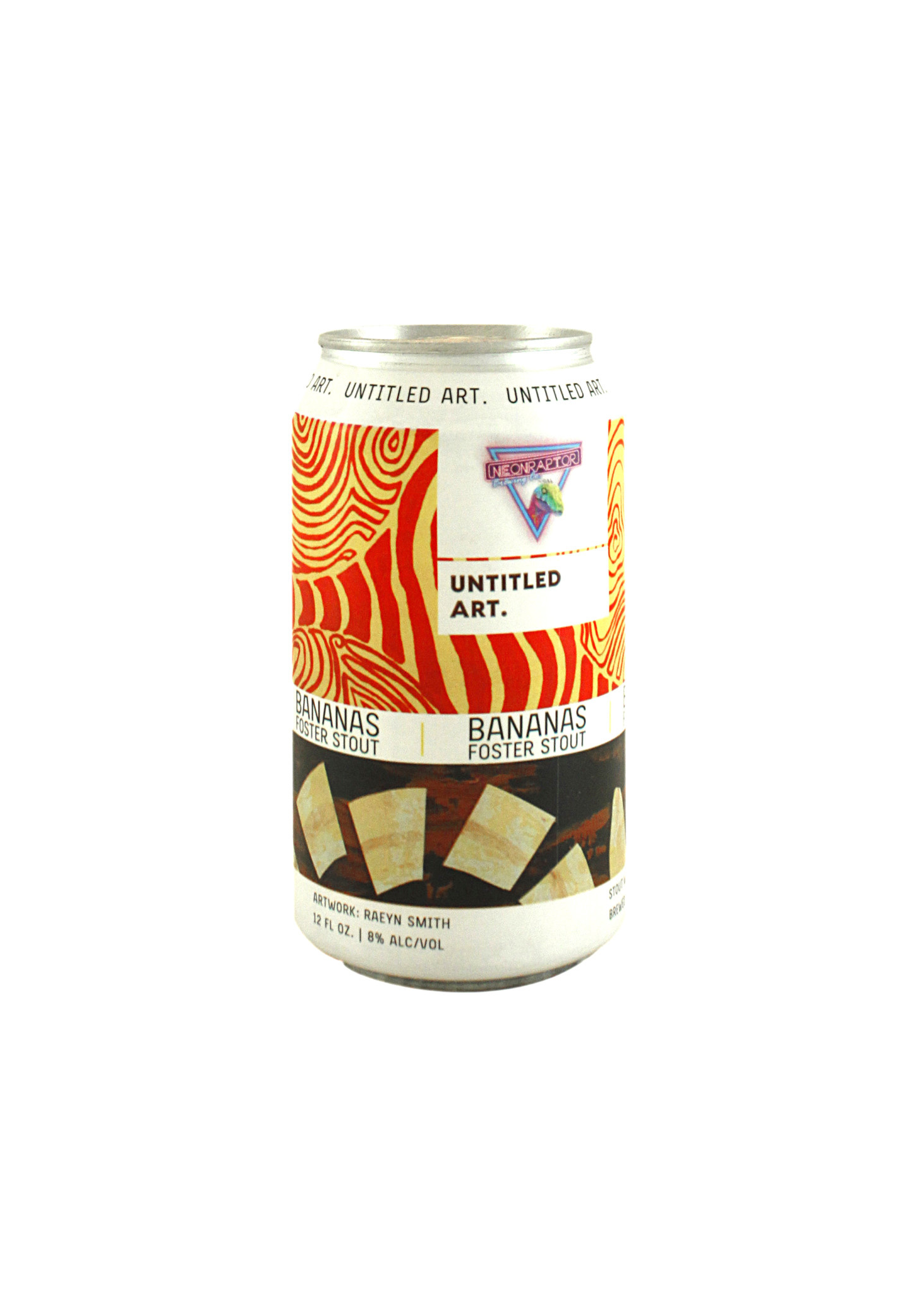 "Untitled Art. ""Bananas Foster"" Stout 12oz. can - Wisconsin"