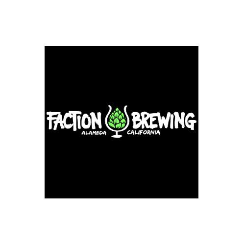 "Faction Brewing "" Mackinaw Peach"" American IPA 16oz. can - Alameda, CA"