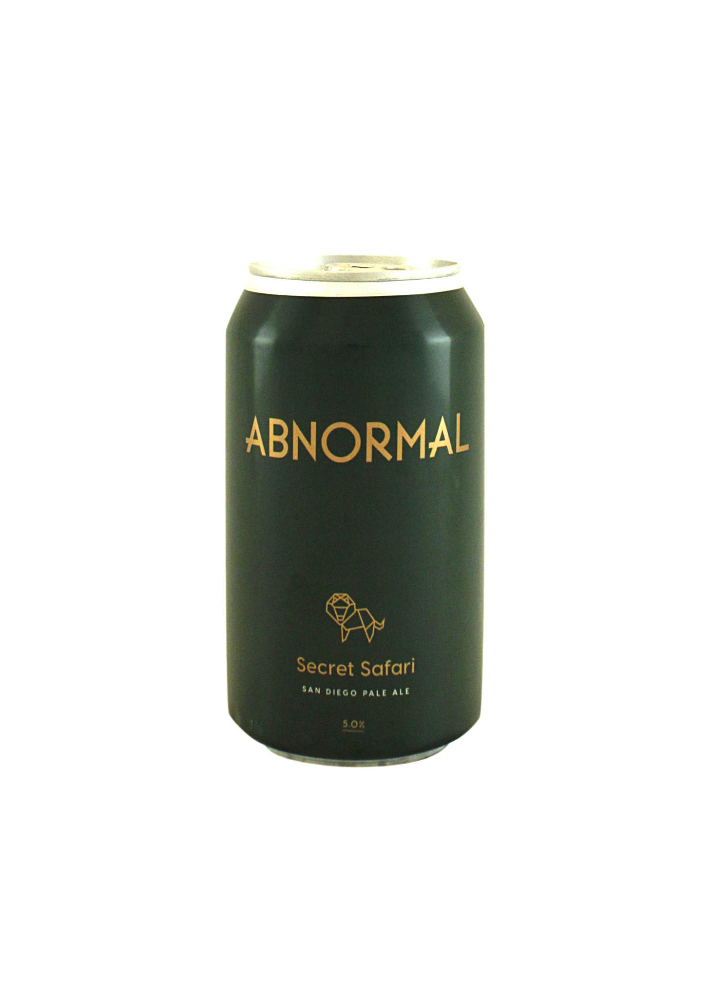 "Abnormal Beer Co. ""Secret Safari"" Pale Ale 12oz. can - San Diego, CA"