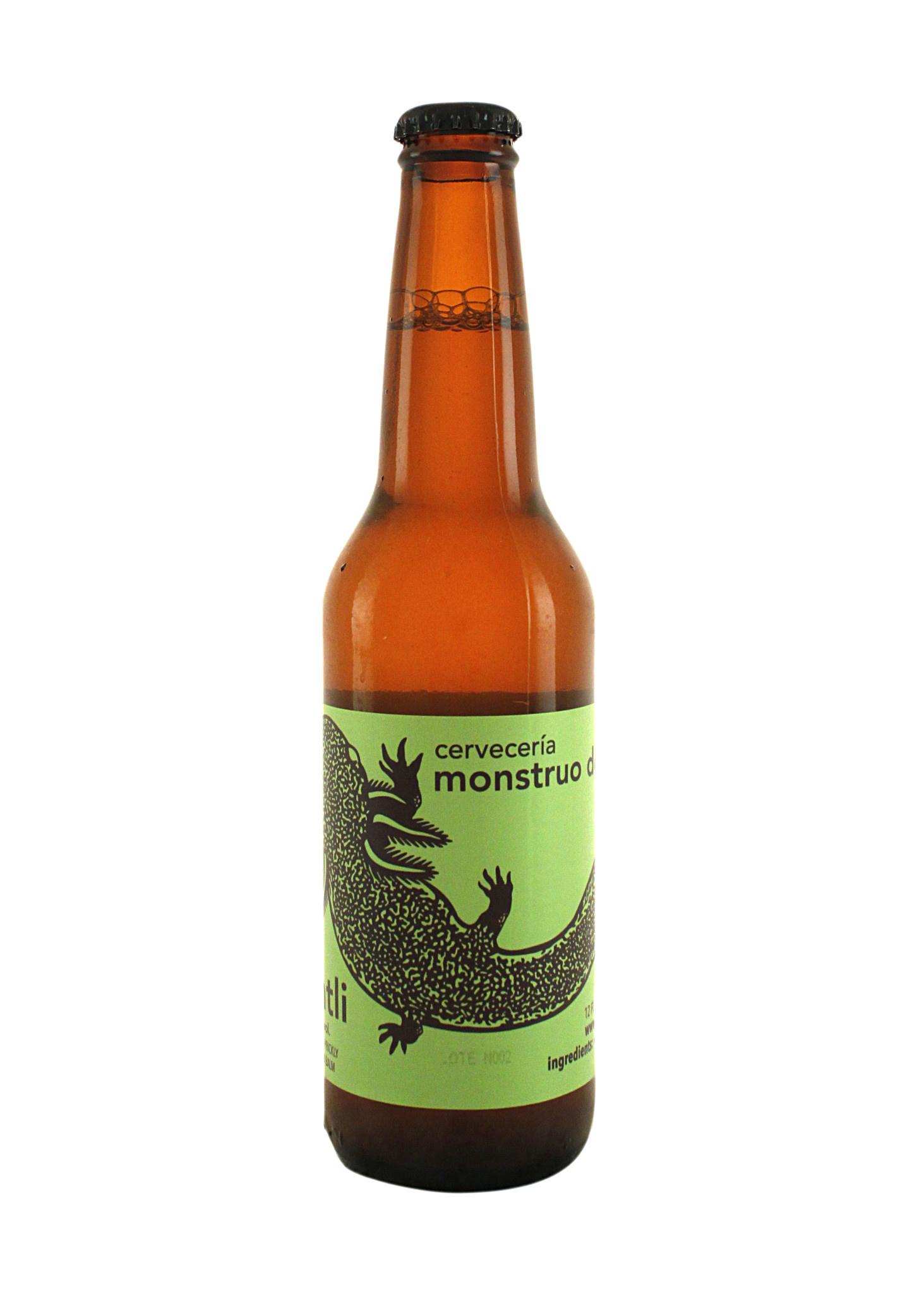 Monstruo de Agua Nochtli Prickly Pear Golden Ale 12oz. bottle - Mexico
