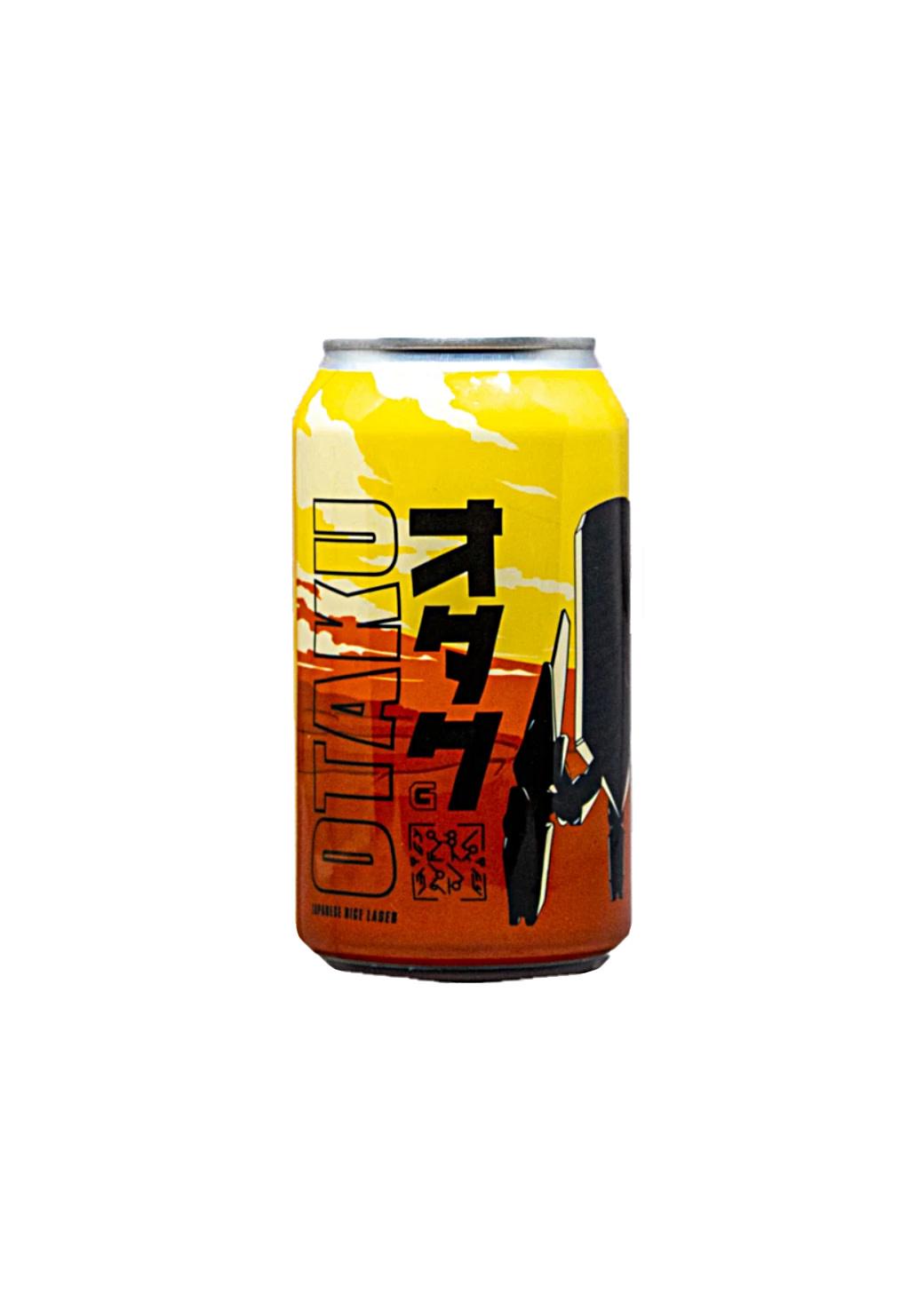 "GameCraft Brewing ""Otaku"" Japanese Lager 12oz can- Laguna Hill, CA"